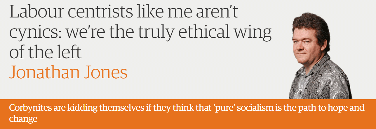 Labour centrists like me aren't cynics: we're the truly ethical wing of the left