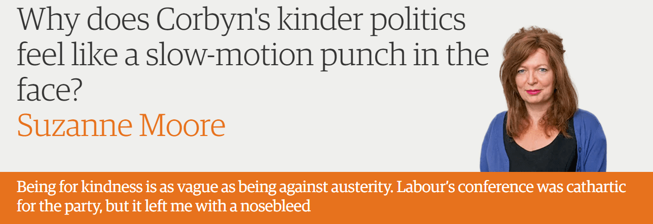 Why does Corbyn's kinder politics feel like a slow-motion punch in the face?